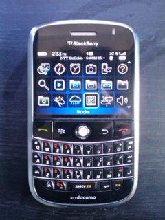BlackBerry Bold NTTDOCOMO